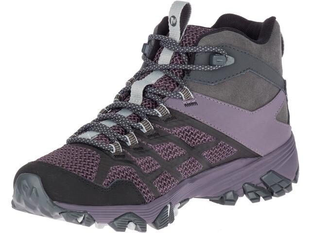 8b229a01445 Merrell Moab FST 2 GTX Mid Shoes Women granite/shark